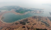 Cận cảnh dự án lấn biển xây đô thị của chúa đảo Tuần Châu nhìn từ trên cao