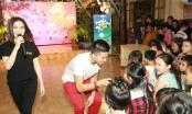 Hòa Minzy, Trọng Hiếu trở về tuổi thơ khi hát cùng trẻ em cơ nhỡ