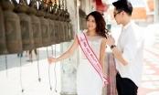 Hoa hậu Tường Linh được diễn viên Thái Lan mời tham quan địa điểm nổi tiếng