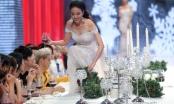 HLV và khách mời la ó khi thí sinh The Face lướt trên bàn tiệc đầy chướng ngại vật