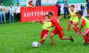 Siêu cầu thủ nhí tranh tài tại giải bóng đá Thách thức Lotteria Cup 2017