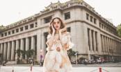 Tan chảy với style bèo nhún của Hoa hậu Kiều Ngân