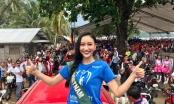 Hà Thu bước vào chặng đua cuối tại Miss Earth 2017