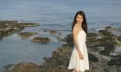 Á hậu Thuỳ Dung khoe vẻ đẹp mong manh ở đảo Phú Quý