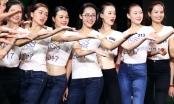 Ngắm nhìn thí sinh Hoa hậu Hoàn vũ Việt Nam miệt mài tập luyện cho phần thi đêm Bán kết