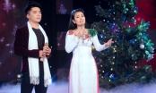 Ca sĩ Yến Ngọc sánh đôi bên mỹ nam Triều Quân hát nhạc Noel