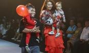 Siêu mẫu Thanh Hằng, Minh Tú, Hoa hậu Đỗ Mỹ Linh toả sáng trên sàn diễn Asian Kids Fashion Week