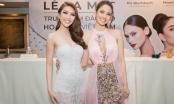 Tường Linh thích thú khi gặp thần tượng - Hoa hậu Hoàn vũ 2015 Pia Wurtzbach