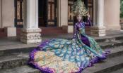"""Ấn tượng với bộ Quốc phục """"Khổng Tước"""" của đại diện Việt Nam tại Miss Asia World"""