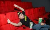 50 sắc thái của Huy Cung khi xem Cá mập siêu bạo chúa ở rạp phim 3 màn hình
