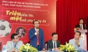 """Nhà báo Lương Hoàng Hưng - UCV Phó chủ tịch VFF, hiến kế giảm tiêu cực nạn """"vé chợ đen"""", tăng minh bạch"""