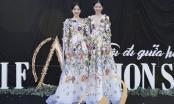 Chị em Nam Anh - Nam Em hóa nàng tiên hoa tại AMI Fashion show 2018