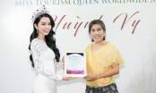 Hoa hậu Huỳnh Vy trở thành Giám đốc Quốc gia Miss Tourism Queen Worldwide VietNam