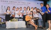 Thùy Tiên, Khổng Tú Quỳnh giao lưu với sinh viên TP.HCM