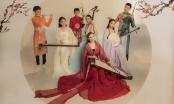 Phi Nhung và các con tranh thủ chụp hình chung tặng fan năm mới