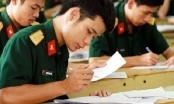 Lưu ý khi sử dụng kết quả thi THPT xét tuyển vào trường quân đội