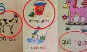 Những lỗi sai điên rồ trong sách giáo khoa Tiểu học