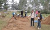Hà Tĩnh: Thám sát, nghiên cứu khảo cổ học khu vực đền Huyện