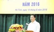 Chủ tịch Hà Tĩnh: Ai sách nhiễu cứ nhắn tin cho tôi