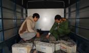 Hà Nam: Phát hiện và bắt giữ xe ô tô chở 790kg ắc quy phế thải