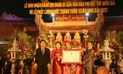 """Đền Trần Thương đón bằng """"Di sản văn hóa phi vật thể quốc gia"""""""