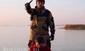 IS công bố video hành quyết điệp viên Nga