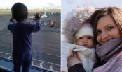 Bé gái bị văng xa 33 km trong tai nạn máy bay Nga rơi