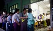 Cử tri Myanmar đi bỏ phiếu trong cuộc bầu cử lịch sử
