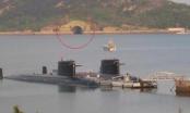 Tàu ngầm Trung Quốc nằm phục dưới lòng Biển Đông