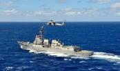 Trung Quốc cử máy bay, tàu chiến bám đuôi tàu Mỹ tuần tra Biển Đông