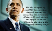 """Những """"điểm cộng"""" văn hóa của ông Obama trong chuyến thăm Việt Nam"""