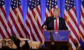 Họp báo lần đầu tiên của ông Trump kể từ khi đắc cử