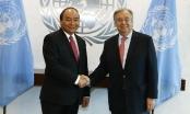 Thủ tướng đề nghị Liên Hợp quốc hỗ trợ Việt Nam triển khai chương trình nghị sự 2030