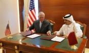 Mỹ, Qatar ký thỏa thuận chống tài trợ khủng bố