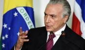 Brazil: Bác đơn khởi tố chống Tổng thống Temer