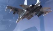 Su-35 Nga dội bom tiêu diệt IS ở Syria