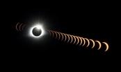 Hình ảnh nhật thực toàn phần trên bầu trời Mỹ