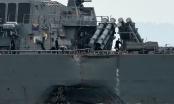 Tìm thấy thi thể 10 thủy thủ mất tích ở vụ va chạm tàu khu trục Mỹ