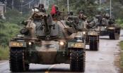 Quân đội Hàn Quốc tập trận rầm rộ sát biên giới Triều Tiên