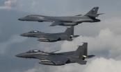 Máy bay ném bom Mỹ tập trận phóng tên lửa răn đe Triều Tiên