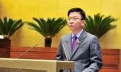 Bộ trưởng Lê Thành Long báo cáo Quốc hội về công tác thi hành án năm 2017