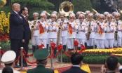 Chùm ảnh lễ đón Tổng thống Donald Trump tại Phủ chủ tịch