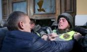 Đụng độ giữa cảnh sát và người biểu tình tại Kiev