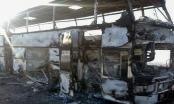 Cháy xe buýt, 52 người Uzbekistan chết thảm