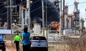 Nổ nhà máy lọc dầu ở Mỹ, ít nhất 20 người bị thương
