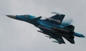 Thực hư Su-34 của Nga truy đuổi F-16 của Israel ở không phận Lebanon