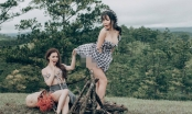 Á hậu Thư Dung chụp ảnh hớ hênh: Đạo nhái hay trò lố khoe thân?