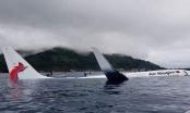 Máy bay mất đà lao xuống biển, 47 người may mắn sống sót