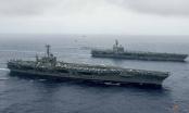 Mỹ điều hàng trăm chiến đấu cơ đến tập trận tại biển Philippines