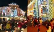 Đêm Noel lạnh ở Hà Nội, ấm áp tại TP HCM